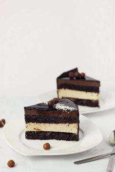 Bavarian Cream Chocolate Cake