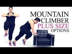 Single Leg Squat Exercise Modification - plus size - workout - episode 3 - YouTube #weightlosstips