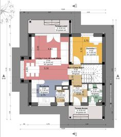 Small but beautiful house plans - Houz Buzz Beautiful House Plans, Beautiful Homes, Tree Bedroom, Cosy House, Floor Plans, How To Plan, Bedrooms, Houses, Trendy Tree