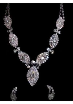 Beautiful Bridal NeckLace with Earrings,   via Flickr.