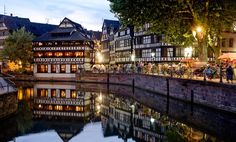 Strasbourg, German style town in france. Might be too far but if we're in area worth a trip. Great Places, Places To See, Hidden Places, Places To Travel, Travel Destinations, Petite France, Voyage Europe, Beaux Villages, Belle Villa