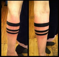 Black Band around Forearm Tattoo | black bands on Tumblr