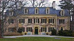 The first du Pont Family home in America, Eleutherian Mills, at Chritmastime. The house was built by E. I. du Pont in 1803 in Wilmington, Delaware.