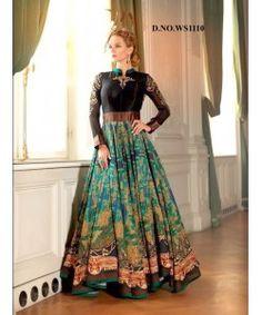 Latest Fancy Designer Gown  http://www.kmozi.com/latest-fancy-designer-gown-891