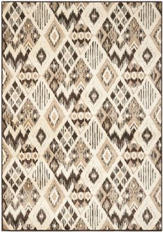 Thom Felica Brown / Taupe Area Rug