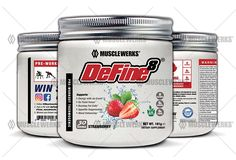 DeFine8: Fat Burner, Pre-Workout Thermogenic - Strawberry - NEW ADVANCED FORMULA, Appetite Suppressant, Boosts Metabolism and Curbs Sweet Cravings for Weight Loss. 30 Servings > Don't get left behind, see this great  product : Weight loss Supplements