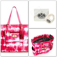 NWT Authentic Juicy Couture Baby Diaper Bag $175.00