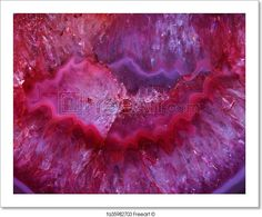 """Color Agate Mineral Background"" - Art Print from FreeArt.com"