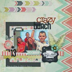 My Crazy Bunch - Scrapbook.com