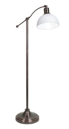OttLite 25549RB5 25-watt Tupelo Floor Lamp, Rubbed Bronze