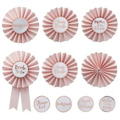 Team Bride Hen Party Badges - - Hen Party Accessories (Pack of Team Bride, Classy Hen Party, Hen Party Badges, Sweet Party, Hen Party Accessories, Style Deco, Bride Flowers, Wedding Flowers, Rose Gold Foil