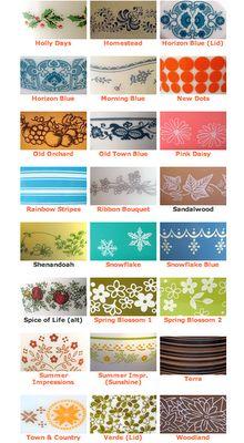 Vintage Pyrex Patterns Guide | http www pyrexlove com vintage pyrex pattern…