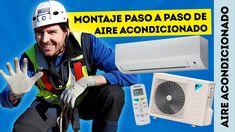 En esta DomoAventura aprenderemos a instalar un split de Aire acondicionado y todas las conexiones entre la máquina interior y exterior paso a paso. Soldar, ensanchar, aborcardar, conectar, canalizar... etc.