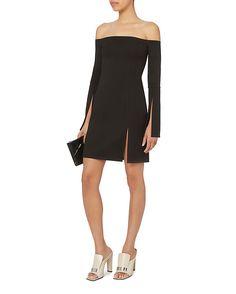 Shop Alexis Sterre Slit Mini Dress $298