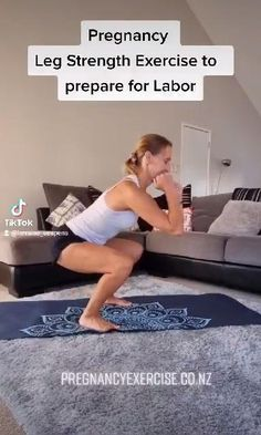 First Trimester Pregnancy Workout, Pregnancy Workout Videos, Post Baby Workout, Pregnancy Fitness, Exercise During Pregnancy, Prenatal Workout, Prenatal Yoga, Pregnancy Health, Pregnancy Tips