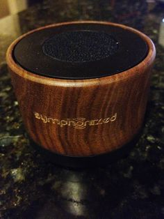 Katrina's Review Blog: Symphonized NXT Premium Genuine Walnut Wood Bluetooth Portable Speaker Review #bluetoothspeaker #NXT #symphonized