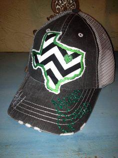 University of North Texas UNT State Baseball Bling Ladies Womens Trucker Hat on Etsy, $36.00