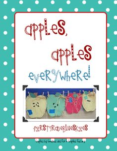 Apples and Spoookiness! - First Grade Blue Skies
