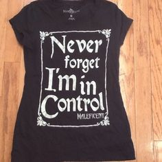 MALEFICENT SHIRT!!!! This is just a black shirt by Disney!!!! Disney Tops Tees - Short Sleeve