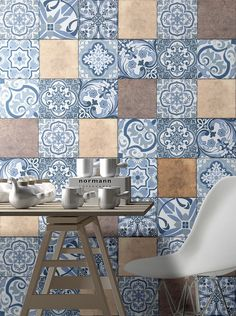 Mosaic Tiles, Blanket, Contemporary, Ornaments, Interior Design, Rugs, Wallpaper, Kitchen Industrial, Home Decor