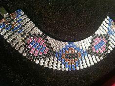 Art Deco Rhinestone bracelet by JewelsPast on Etsy, £65.00