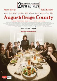 August: Osage County (2014) Official Poster #film
