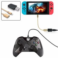 Controller Converter for Nintendo Switch for PS3/PS4 Dualshock/XBOX 360/XBOX ONE Controllers