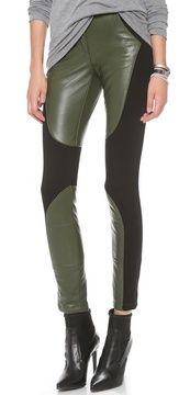 Rebecca minkoff Telescope Leather Pants on shopstyle.com