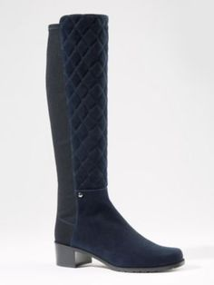TALL SUEDE GUARD BOOTS