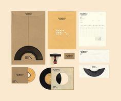 Domino Records by Matthew Jensen, via Behance