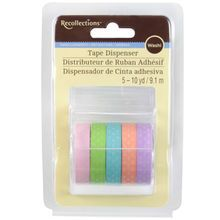 Recollections™ Washi Tape Dispenser, Pastel Polka Dots