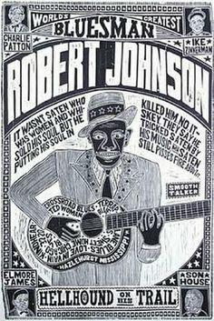 Robert Johnson. Sold his soul to Satan