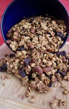 This is everything you want in a granola- slightly sweet, crunchy, chewy tart and packed full of flavor!