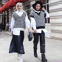 Muslim Fashion, Modest Fashion, Trendy Fashion, Korean Fashion, Fashion Outfits, Mode Turban, Hijab Trends, Applis Photo, Hijab Fashion Inspiration