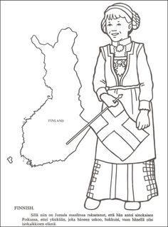 from the missionary coloring book 275 has 25 countries with map child