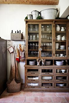 Home Interior Decoration .Home Interior Decoration Home Decor Kitchen, Rustic Kitchen, Country Kitchen, Home Kitchens, Vintage Kitchen, Kitchen Ideas, Home Interior, Kitchen Interior, Interior Design