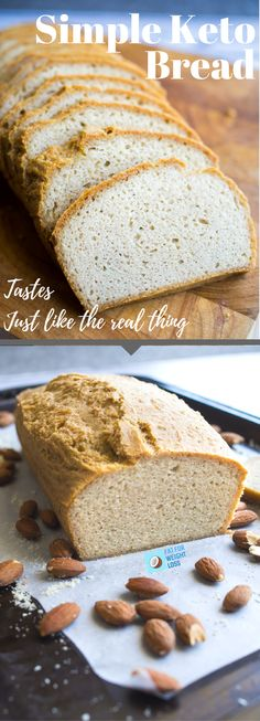 Finding it hard to give up carbohydrates? This keto bread makes the switch much easier, easily being able to still have sandwiches and toast.  Most bread recipes can taste very eggy, or crumble very easily. Whilst you can't please everyone, this bread once cooled as little to no eggy taste, additionally utilizing the power of xanthan gum to hold all of the ingredients together.