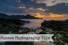 Sunset Photography Tips. Easier than you think! Photography Lessons, Photography Camera, Sunset Photography, Photography Tutorials, Landscape Photography, Travel Photography, Photography Ideas, Canon 7d, Photo Tips