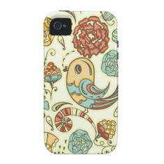 Tattoo style bird and flowers vibe iPhone 4 cases #tattoo #tattoostyle #iphonecase #iphonecases