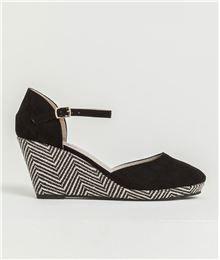 GDM - Chaussures femme compensées chevrons