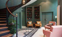 the lobby at the hoxton hotel. / sfgirlbybay