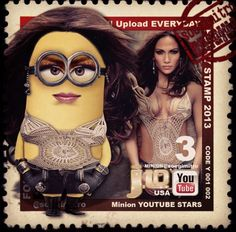 Minions Youtube Stars - J Lo Minion