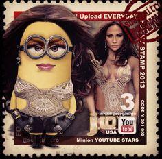 Minions Youtube Stars - J Lo Minion
