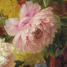 Still Life: Arnoldus Bloemers Oil Painting Flowers, Watercolor Flowers, Watercolor Paintings, Flower Art, Flower Vases, Arte Floral, Botanical Art, Painting Inspiration, Still Life