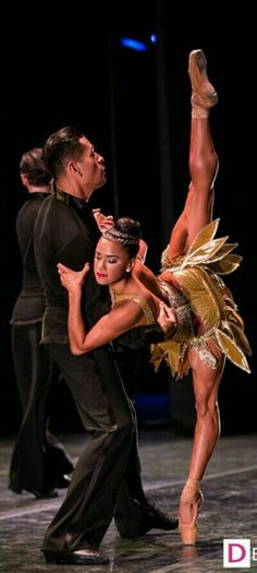 Misty Copeland, one of the finest ballerinas in the world. I think, she is also the first African-American Ballerina to headline a performance. If I am wrong, let me know and I will correct it. I really want to see her preform.
