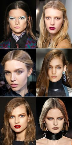 Dolce and Gabbana Make Up Classic Cream Lipstick - Pat McGrath and Guido Palau on Runway Hair and Makeup - Harper's BAZAAR