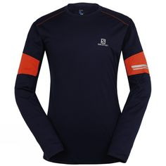 00fb150340f Check out the Salomon Mens Agile Long Sleeve Tee at Cotswold Outdoor.  Lightweight waffle fabric in the Men s Agile Long Sleeve Tee from Salomon  breathes ...