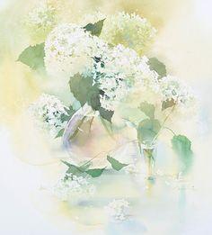 AI Nakamura Watercolor Painting