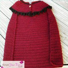 Snow Princess Crochet Cape | AllFreeCrochet.com
