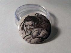 Comic Book 1.5 Button// Lobo, $1.00